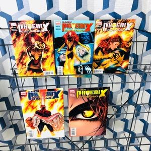 X-Men Phoenix Endsong 1-5 set Marvel 2005